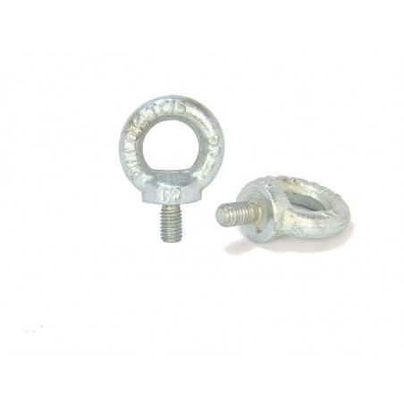 Screw M8 with eye (zinc steel)