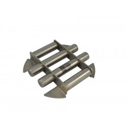 One-level magnetic grate for funnel phi 280 / N