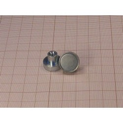 HM 16 x 4,5 x M4 in x 11,5 / N - NdFeB holding magnet