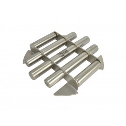One-level magnetic grate...